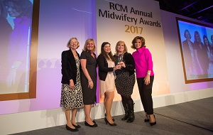Midwives honoured with prestigious EuroKing Better Births award
